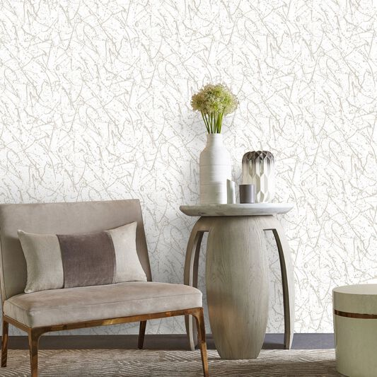 Splatter Gold Wallpaper, , large