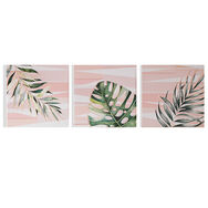 Luscious Leaves Printed Canvas Wall Art, , large
