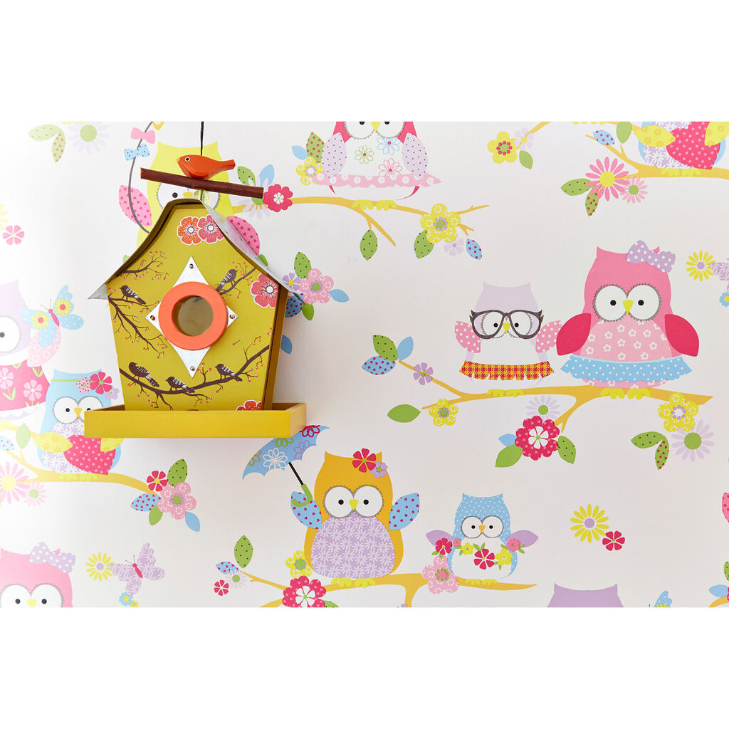 Olive The Owl Wallpaper, , large