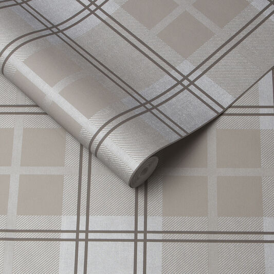 Tartan Earth Wallpaper, , large