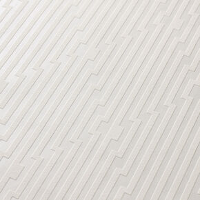 Strata White and Mica Wallpaper, , large