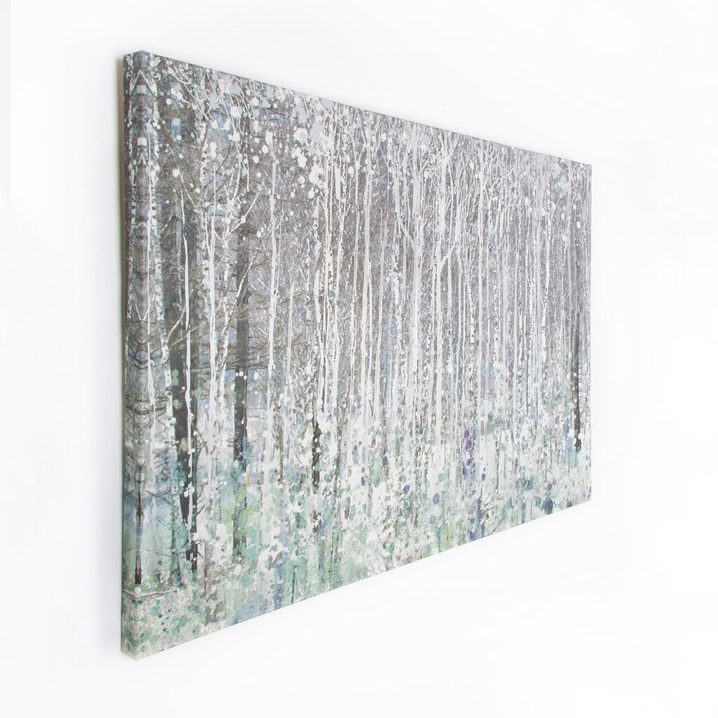watercolour woods printed canvas canvas prints graham brown