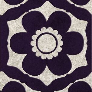 Funky Flora Regal Wallpaper, , large
