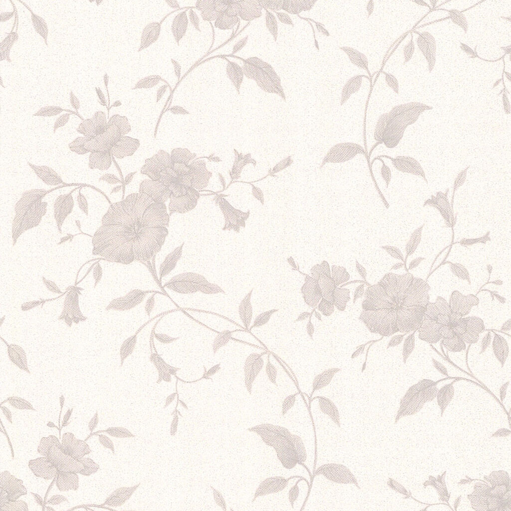 Tapestry Grey and White Wallpaper, , large