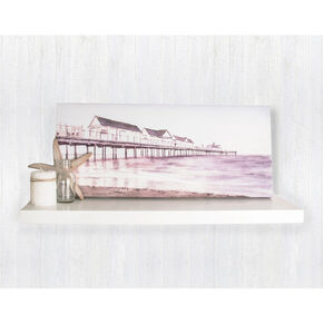 Boardwalk Watercolour Printed Canvas, , large