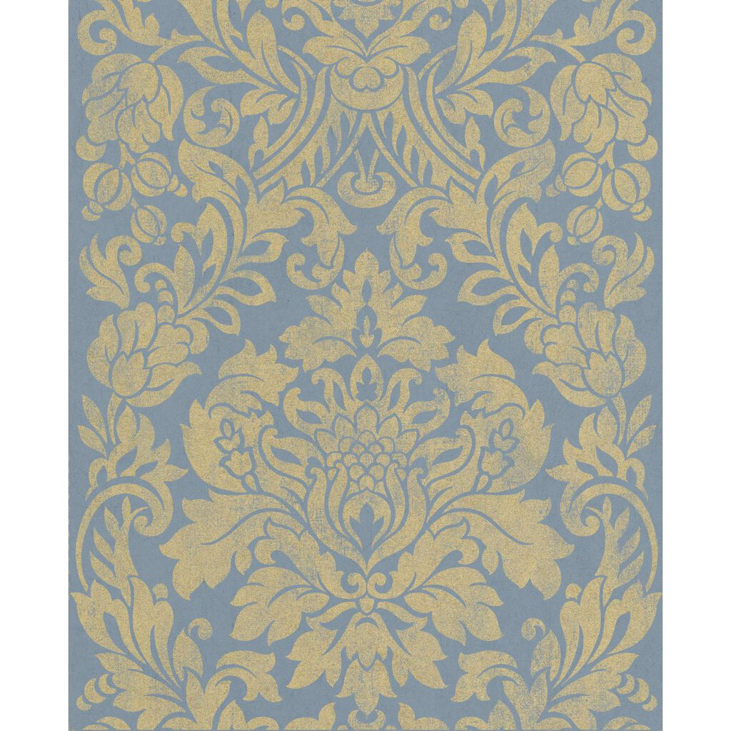 Gloriana Blue Wallpaper, , large