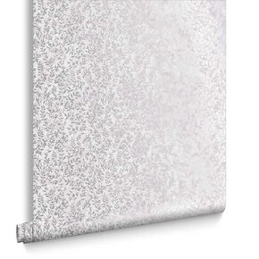 Botany Silver Wallpaper, , large