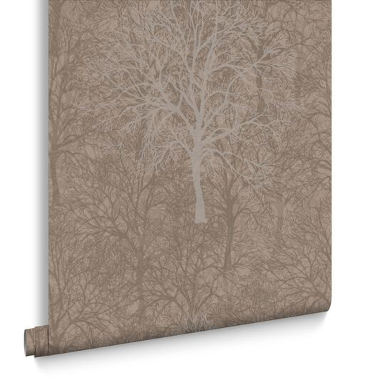 Enchant Golden Brown Wallpaper, , large