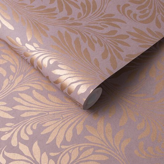 Forest Spiced Mulberry Wallpaper, , large