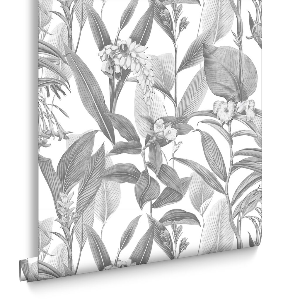 Botanical Shadow Wallpaper, , large