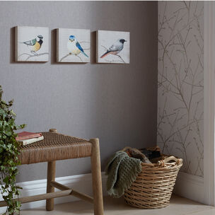 Set de 3 Toiles Imprimées Perched Birds, , large