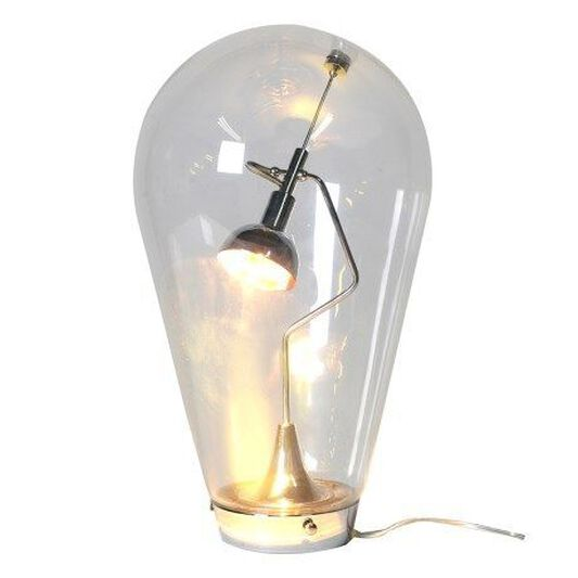 Oversized light bulb glass table lamp grahambrownuk oversized light bulb glass table lamp large mozeypictures Choice Image