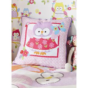Olive The Owl Cushion, , large