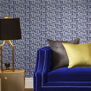 Zen Cobalt Wallpaper, , large