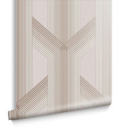 Lagom Geo Blush Wallpaper, , large