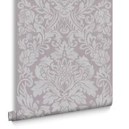 Gloriana Mulberry Wallpaper, , large