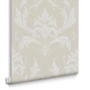 Oxford Taupe Behang, , large