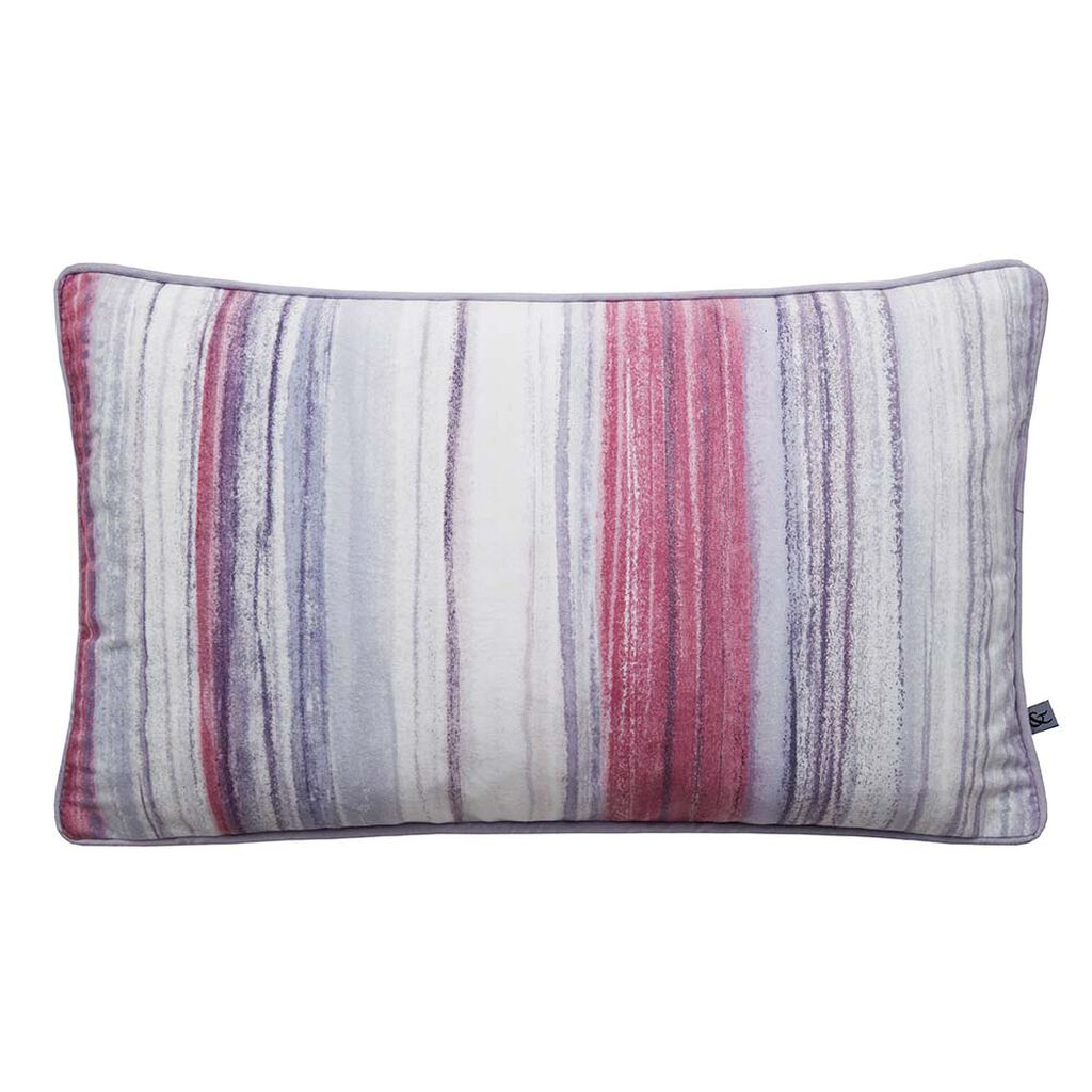 Chelsea Stripe Pink Pillow, , large