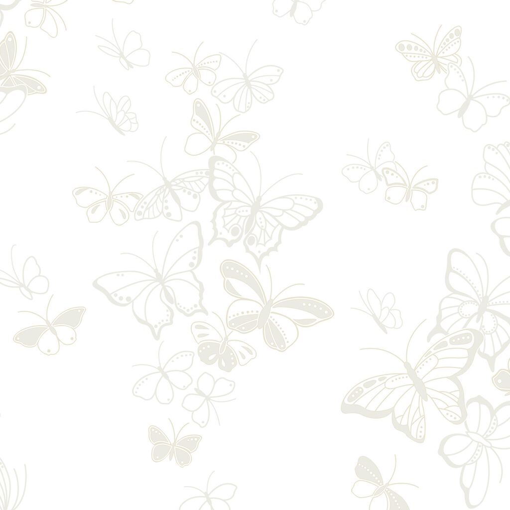 Beautiful Butterfly Champagne Wallpaper, , large