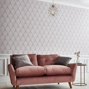 Boulevardia Pink Wallpaper, , large