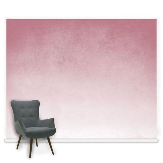 Ink Blush Pink Ready Made Mural, , large