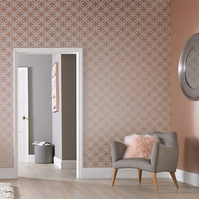 Eternity Rose Gold Wallpaper, , large