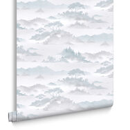 Papier Peint Atmosphere Aqua, , large