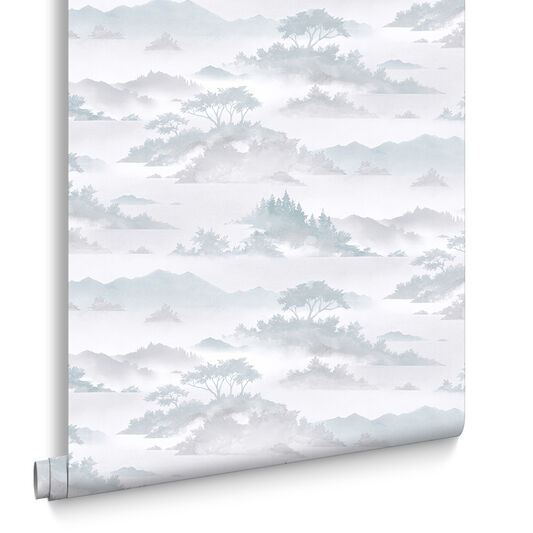 Atmosphere Aqua Wallpaper, , large