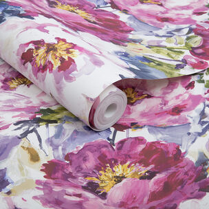 Chelsea Fuchsia Wallpaper, , large