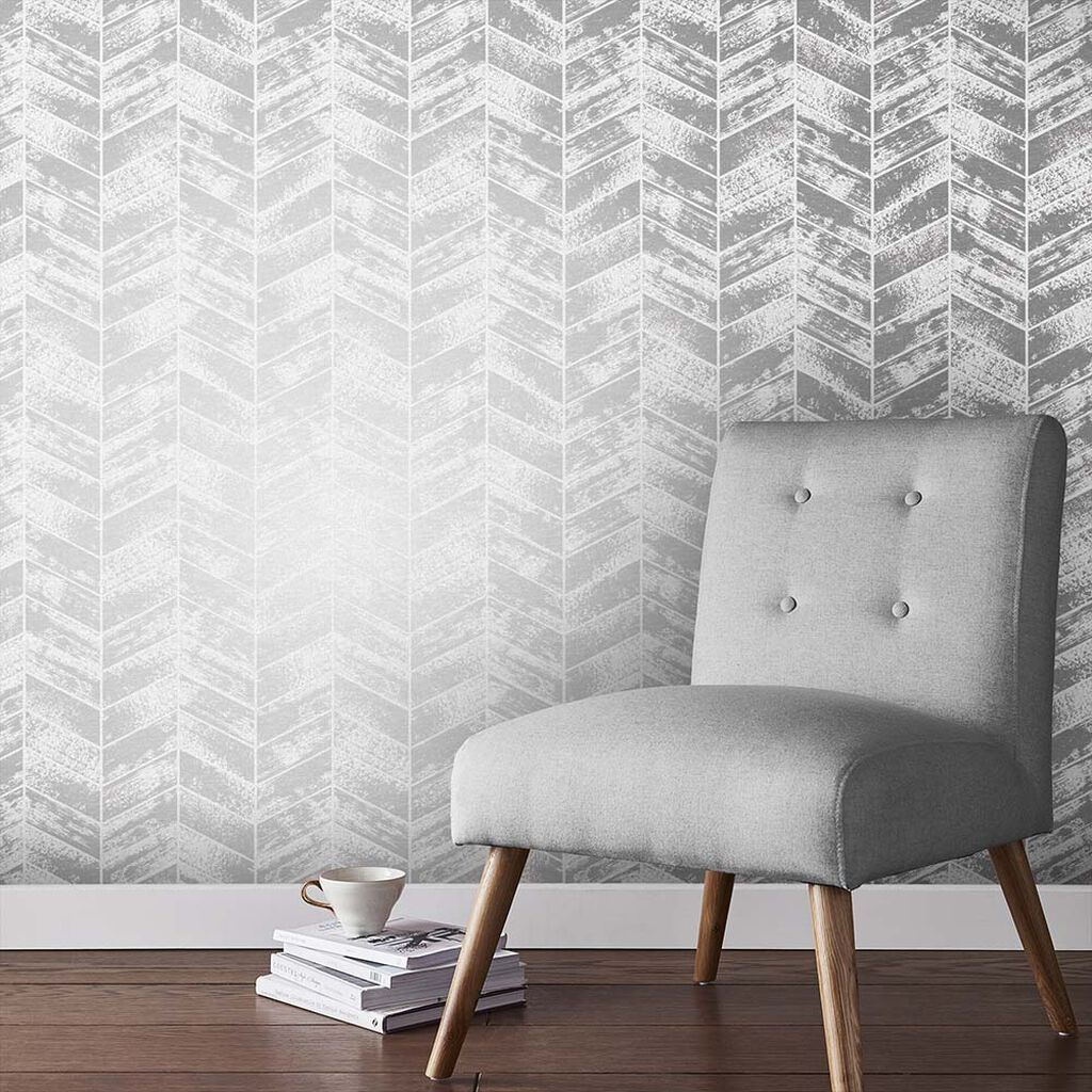 Insignia Silver Wallpaper, , large