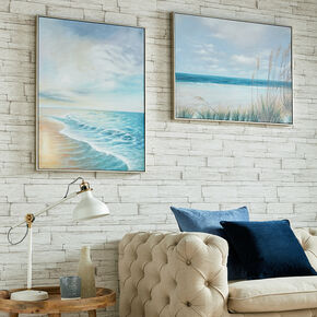 Sunset Shores Framed Wall Art, , large