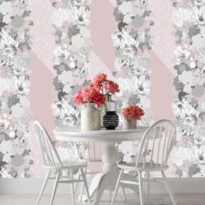 Joy Pink Wallpaper, , large