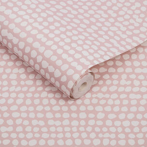 Dots Pink Wallpaper, , large