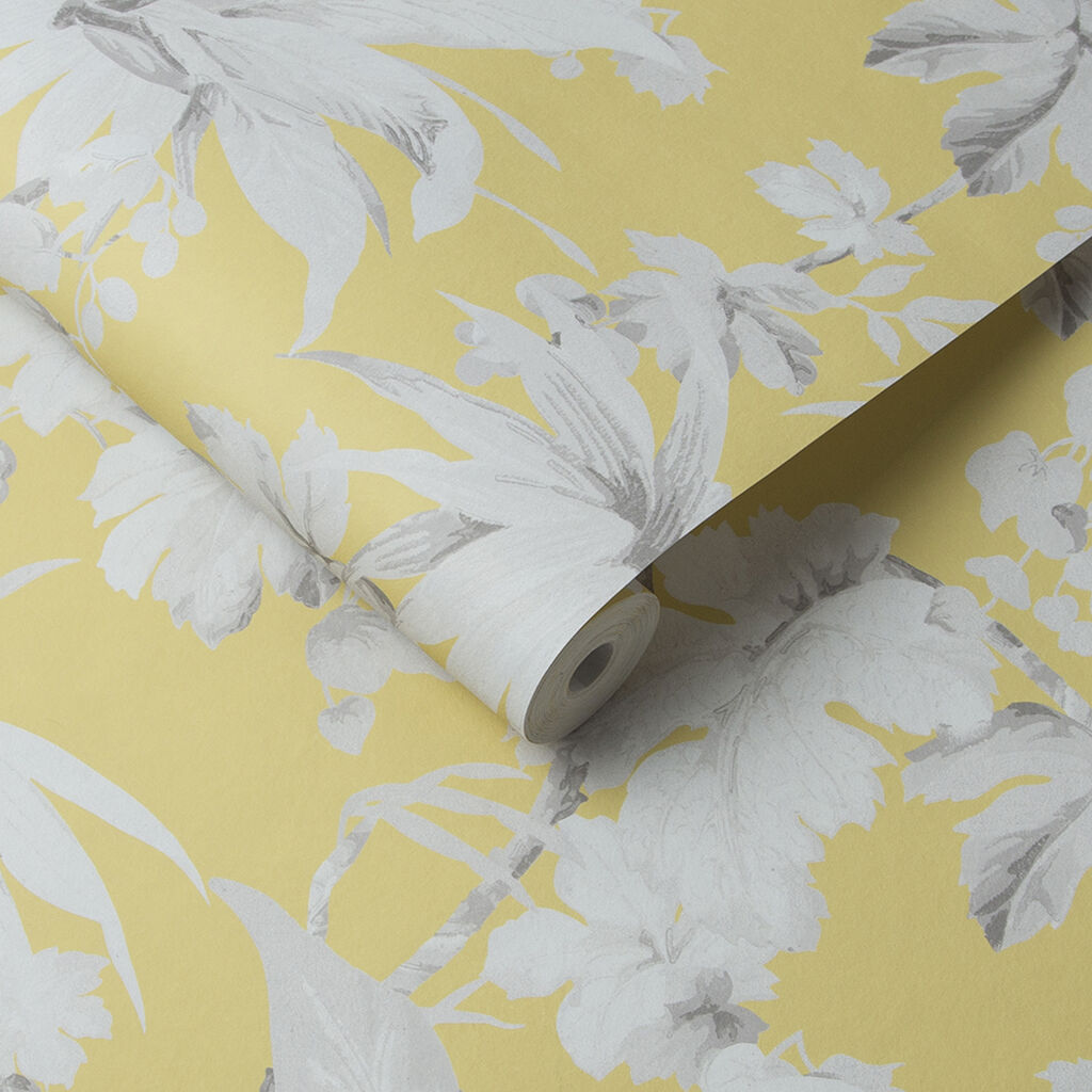 Eden Ochre Wallpaper, , large