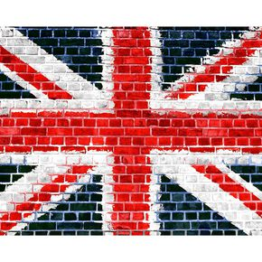 Union Brick Wall Ready Made Mural, , large