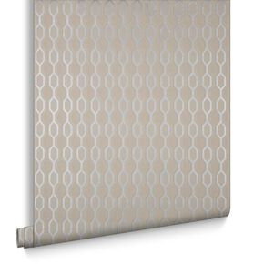 Hicks Kelly's Taupe Behang, , large