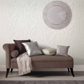 Woodland Pearl Wallpaper, , large
