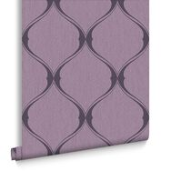 Olympus Plum Behang, , large