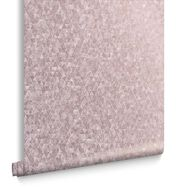 Trinity Soft Roségoud Behang, , large