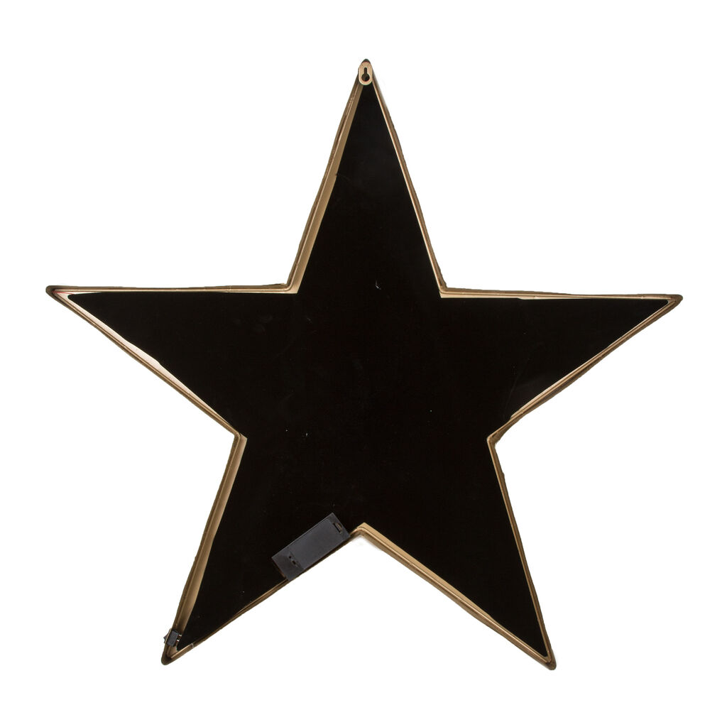 Lit Star Metal Art, , large