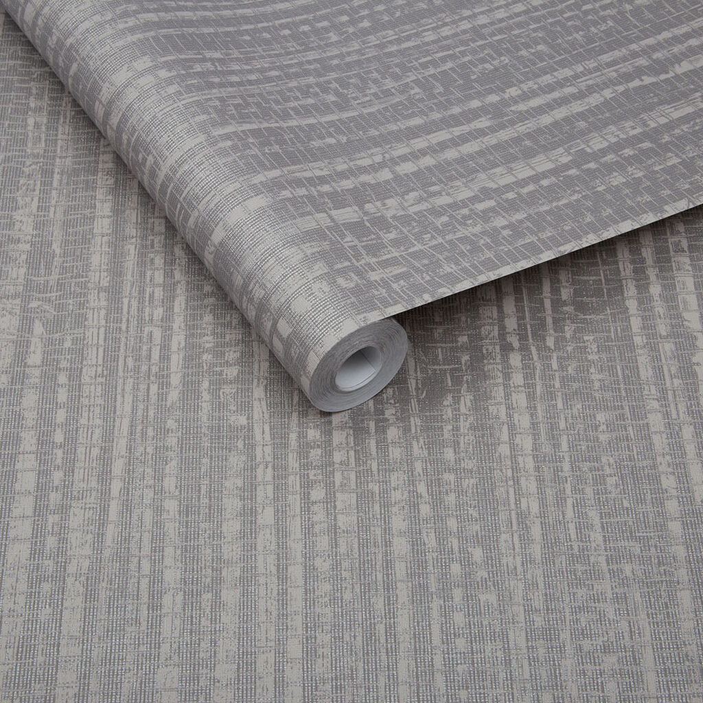 Bamboo Texture Tapete Silber, , large