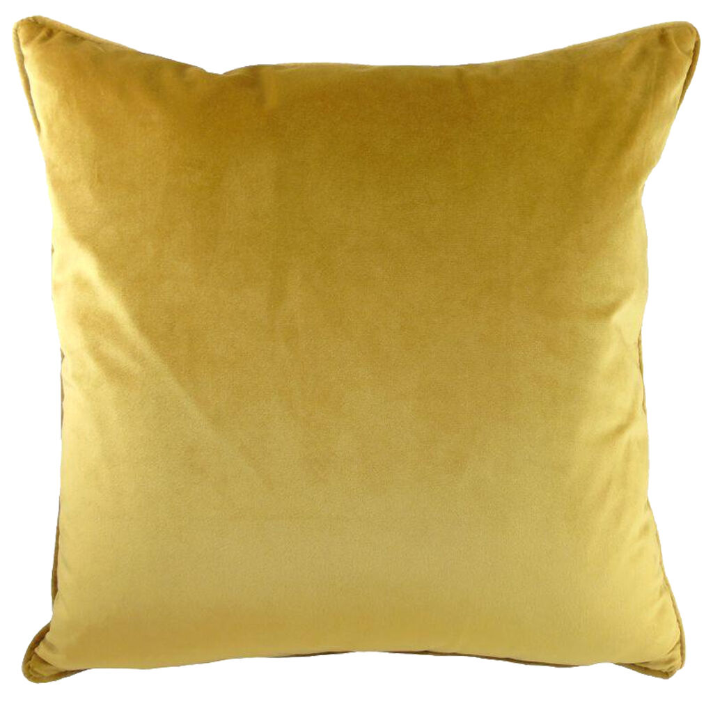 Golden Ochre Opulence Cushion, , large