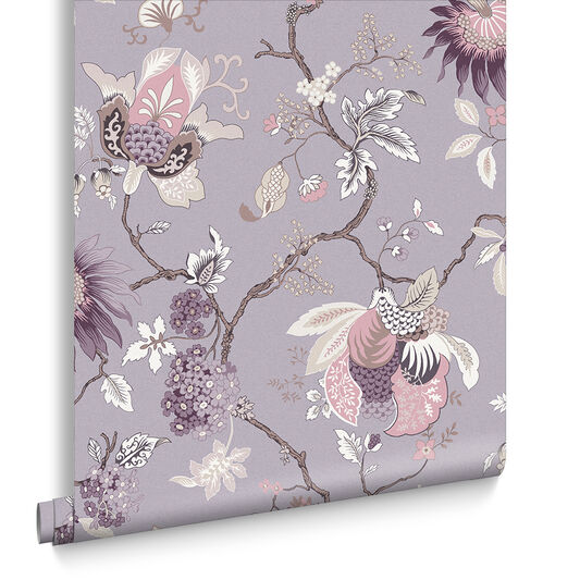 Bordado Mauve Wallpaper, , large