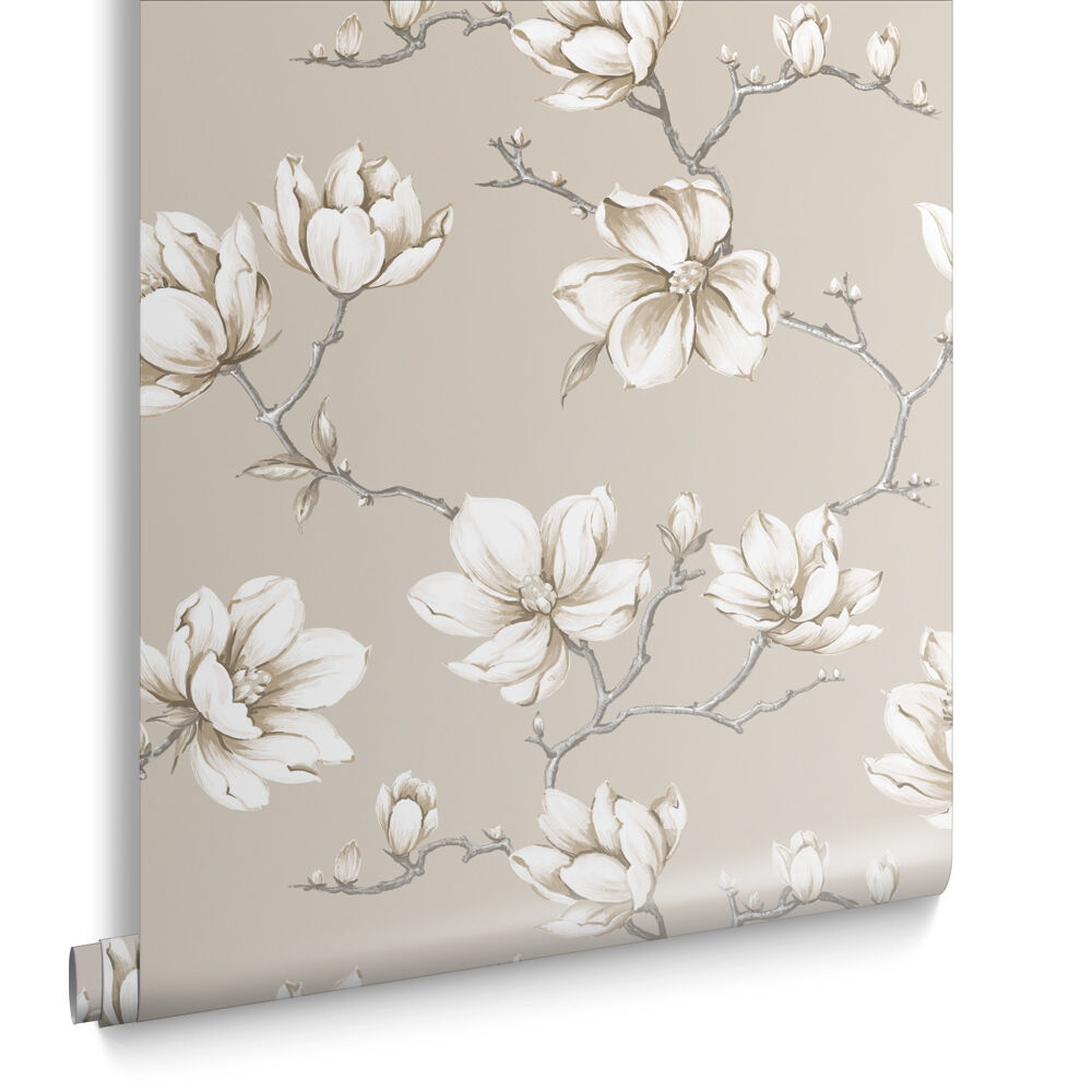 Pierre White Gold Wallpaper, ...