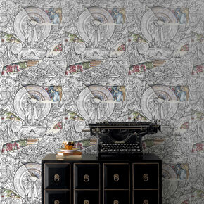 The Wealthy Mandarin Wallpaper, , large