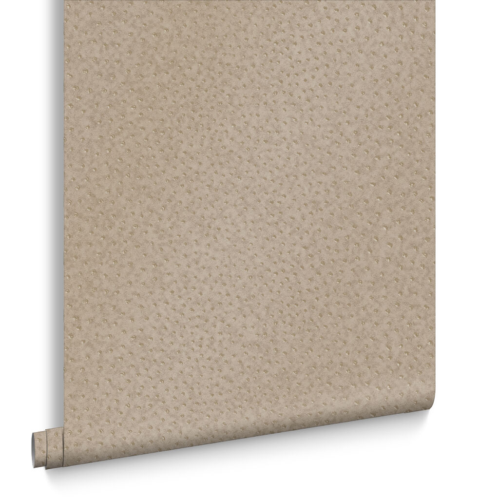 Ostrich Taupe Wallpaper, , large