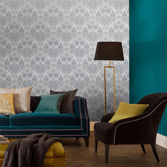 Imperial Gray Wallpaper, , large
