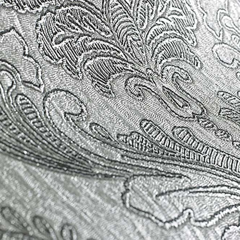 Corsetto Damask Dark Silver Wallpaper, , large