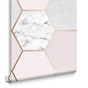 Earthen Rose Quartz Wallpaper, , large