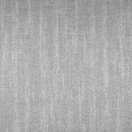 Chenille Grey and Silver Wallpaper, , large